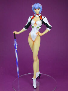 1/6 Evangelion: Ayanami Rei in Race Queen Outfit Vers. Unpainted Resin Model Kit