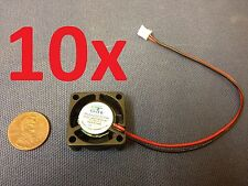 10x GDT mini Cooler 12V 2pin 2510 25x25x10mm DC Cooling Fan micro brushless c7