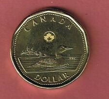 2014 CANADA NEW STYLE  $1 LOONIE COIN UNCIRCULATED FROM MINT ROLL CANADIAN