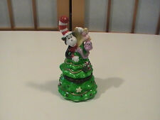 Midwest of Cannon Falls Porcelain Dr. Seuss CAT IN THE HAT Trinket Box RARE