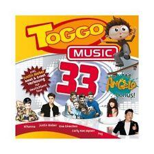 TOGGO MUSIC 33 (RIHANNA/JUSTIN BIEBER/ONE DIRECTION/PSY/+)  CD  23 TRACKS  NEUF