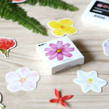 45 Pcs/box Cute Flower Girl Sticker Flakes Vintage Romantic For Diary Decoration