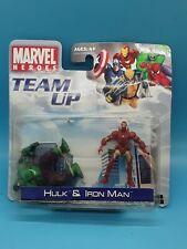 Marvel Team-Up HULK AND  IRONMAN Figures 2007! BRAND NEW SEALED
