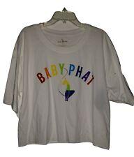 Baby Phat White Rain Bow Top