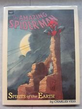 Amazing Spider-Man Spirits of the Earth ~ Hardcover ~ Marvel Graphic Novel 1990