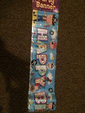 Happy Birthday Pirates Party Banner 2.6m Long Boys