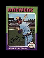 1975 Topps Baseball #468 Bobby Mitchell (Brewers) NM-MT