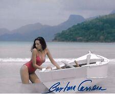 Barbara Carrera Signed 8x10 Photo - James Bond Babe - NEVER SAY NEVER AGAIN H114
