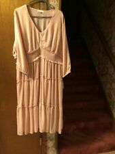 OPHELIA ROE ROSE COLORED DRESS SIZE 3X NEW