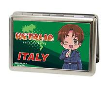 Hetalia Italy Buckle Down Metal Business ID Credit Card Holder New Gift