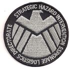 "Avengers/Agents of SHIELD TV Silver/Black 3"" Logo Patch- FREE S&H (ASPA-005)"