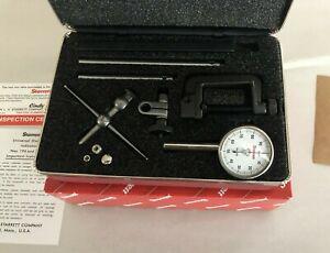 Starrett Dial Test Indicator Set 0-100 196A1Z NIB