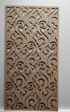 Radiator Cabinet decor.Maro Screening Perforated 3mm & 6mm thick MDF laser cut M