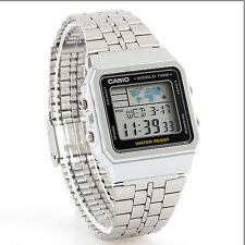 Casio Uhr Collection Weltzeit Digitaluhr A500WEA-1EF