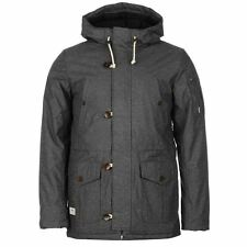 Hooded Parkas Double Breasted Coats & Jackets for Men