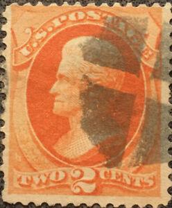 Scott #178 US 1875 2 Cent Jackson Bank Note Stamp