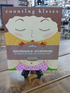Counting Kisses Hallmark Recordable Storybook by Karen Katz New Book SHIPS FREE!