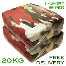 20Kg Bag of Rags T-Shirt t shirt Tshirt Material - Excellent value for money