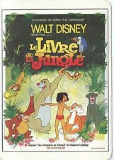 POSTCARD / CARTE POSTALE / WALT DISNEY / LE LIVRE DE LA JUNGLE