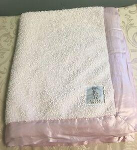 """Little Giraffe Luxe Blanket, 29"""" X 35"""", Pink Lovey Blankie Soft Deluxe"""