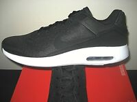 Nike Mens Air Max Modern Essential Running Shoes Black White 844874 001 New
