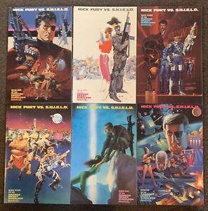 Nick Fury VS Shield #1,2,3,4,5,6 Marvel Comics Complete Set 1988 VF/Nm Lot