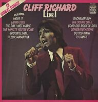 CLIFF RICHARD Live  1972  UK VINYL LP EXCELLENT CONDITION Olivia Newton-John