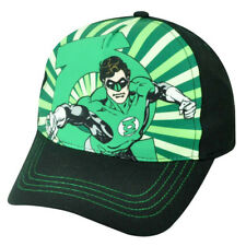 DC Comics Green Lantern Superhero Sublimation Youth Adjustable  Hat Cap