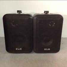 Pair Of  KLH Speakers Model 45 60WATT 8 OHM