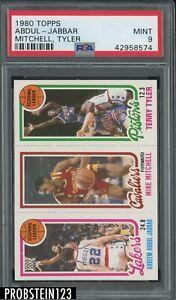 1980 Topps Basketball Kareem Abdul-Jabbar HOF Mitchell Tyler PSA 9 MINT