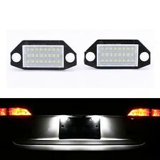 2Pcs 24SMD LED Number License Plate Lights Lamp For Ford Mondeo MK3 2000-2007