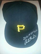 Austin meadows pirates signed hat w/coa