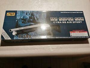 CYMA P.799 M3 Super Gun, Federdruck 6mm <0,5Joule ab 14 Jahre