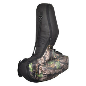 Camouflage Archery Crossbow Soft Case Compundbow Crossbow Bag  Backpack Straps