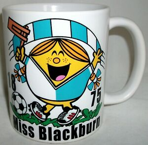 Miss Blackburn Coffee Tea Mug Football Shirt Rovers Mothers Day Girlfriend Gift