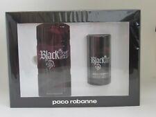 Paco Rabanne Black XS 2 Piece Gift Set 3.4 oz EDT Spray + Deo New In Box SEALED
