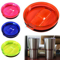 20/30 Oz Splash Spill Proof Lid Slider Closure For RTIC YETI Rambler Tumbler Cup