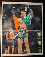 UFC Signed Conor McGregor The Notorious Autographed Photo MMA 8x10