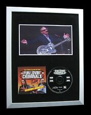 FUN LOVIN CRIMINALS+SIGNED+FRAMED+SCOOBY SNACKS=100% AUTHENTIC+FAST GLOBAL SHIP