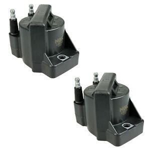 Set of 2 NGK Direct Ignition Coils for Saturn SC SC1 SL SL1 SW1 SW2 1.9L L4