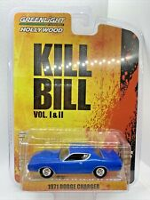 Greenlight Kill Bill 1971 Dodge Charger 1:64 Diecast Collectible