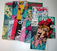 Lot de 14 magasines du mensuel Charlie année 79 - 80