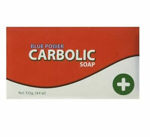 Blue Power Carbolic Soap Antiseptic 125g   Multipack of 1 2 3 & 6