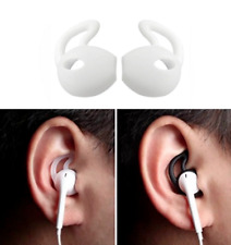 Auriculares de silicona blanca 2 Gancho para la oreja cubierta para iPhone Apple Auricular inalámbrico