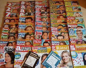 49 Frauenzeitschriften/Klatschzeitungen/Rätselhefte/ Ausgabe Mai 2021  Neuwertig