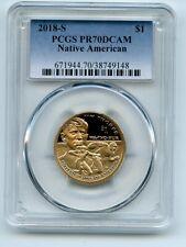 2018 S $1 Sacagawea Dollar PCGS PR70DCAM