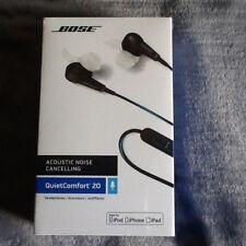 BOSE Quiet Comfort 20 in-ear Cuffie-Nero Il rumore-iPhone/iPod