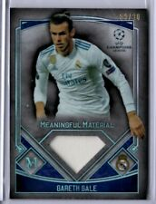 2017-18 Topps UEFA Museum Collection GARETH BALE Game-Used Jersey Card #59/80