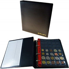 PELLER'S Collection Album, 206 Mix Pockets for Small, Medium, Big Coins: from to