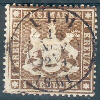 Württemberg, Mi.-Nr.16yo, Michel  320 Euro, fein/feinst
